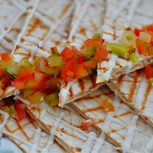 Cheese Quesadilla <h4>Solo / To share</h4>